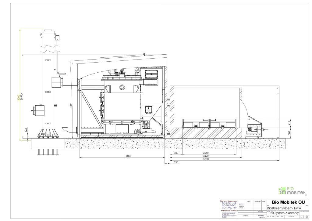Design of boiler systems, construction, and installation of ...